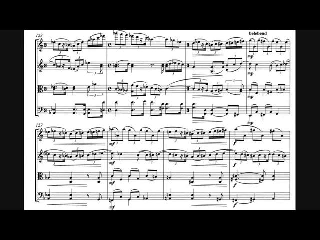 Paul Hindemith String Quartet No 1 Op 2