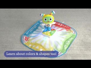 Обучающий световой танцевальный коврик робота БиБо Fisher Price «Веселые ритмы»