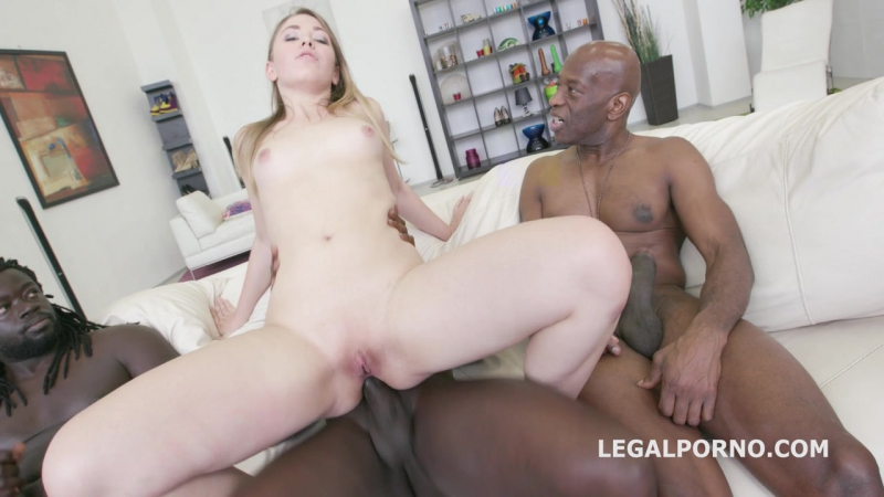 Black Buster, Selvaggia gets DAP  BBC NO PUSSY ANAL GAPES Facial. 18yo used like a slut GIO284  legalporno anal dp gangbang