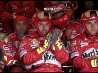 F1 2004. Гран-при Европы. Гонка