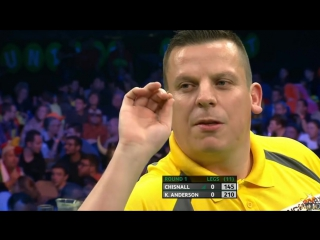 Dave Chisnall vs Kyle Anderson (PDC European Championship 2016 / Round 1)