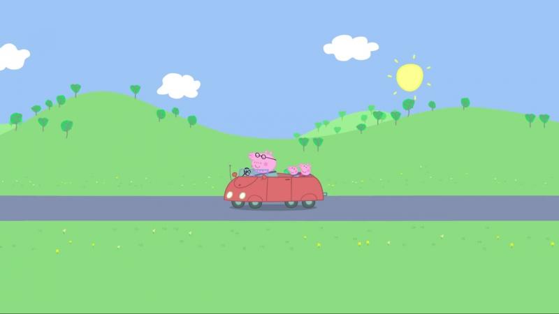 Свинка Пеппа Сезон 1 Серии 5 6 Игра в прятки Детский сад