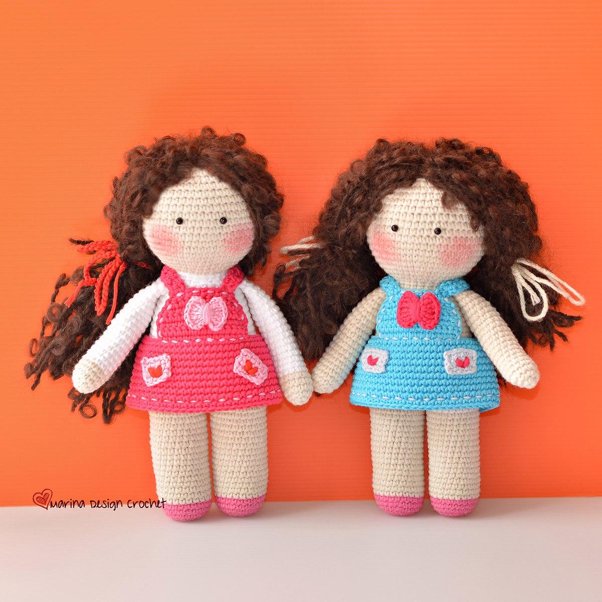 Амигуруми куклы схемы на русском