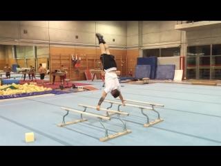 Испанский гимнаст Nestor Abad, нарезка из ежедневных тренировок (часть III)