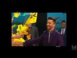 Сергей Лазарев на красной ковровой дорожке премии Муз тв 2016