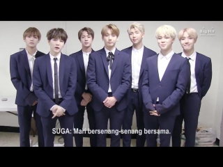170402 BTS Greeting message for