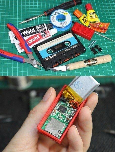 Как сделать из кассеты MP3-плеер