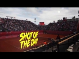 And the shot of the day is... this blazing fast forehand by GillesSimon84!