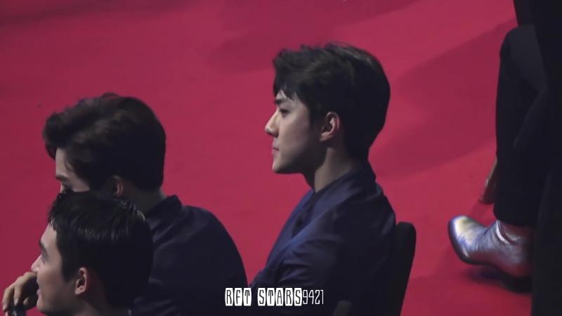 [FANCAM] 170119 The 26th Seoul Music Awards @ EXO's Sehun