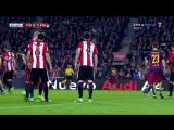 КИ 2015-16  1-4 финала  Ответный матч  Барселона - Атлетик Бильбао 3-1  1 тайм