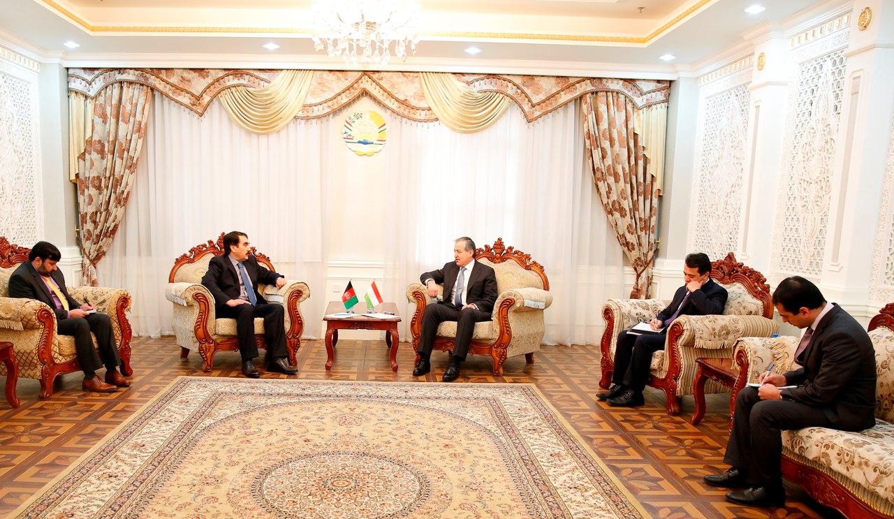В Душанбе прибыл новый посол Афганистана