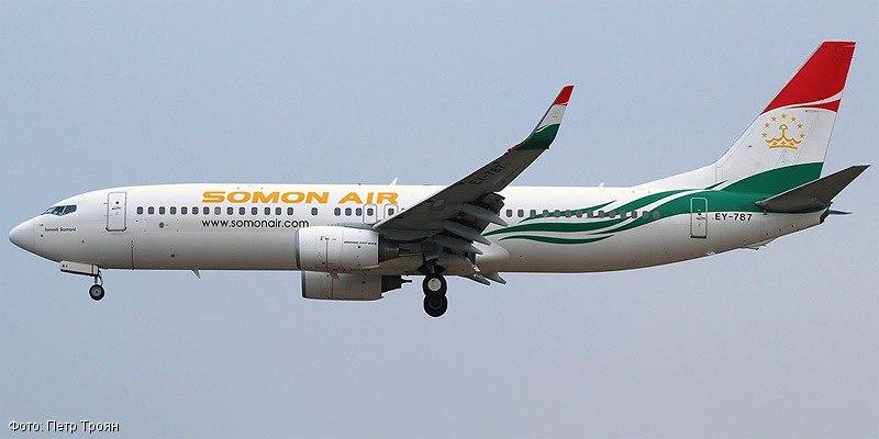 Россия запретила полеты авиакомпании «Сомон Эйр»
