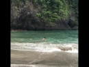 Моя сосисочка наслаждается океаном 🌊🙌🏼🙏🏻😊🌴bali family love son ❤️ юныйсерфер