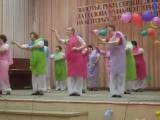 День учителя! Восточный танец в исполнении учителей Половинкинской СОШ. Наши учителя лучшие)