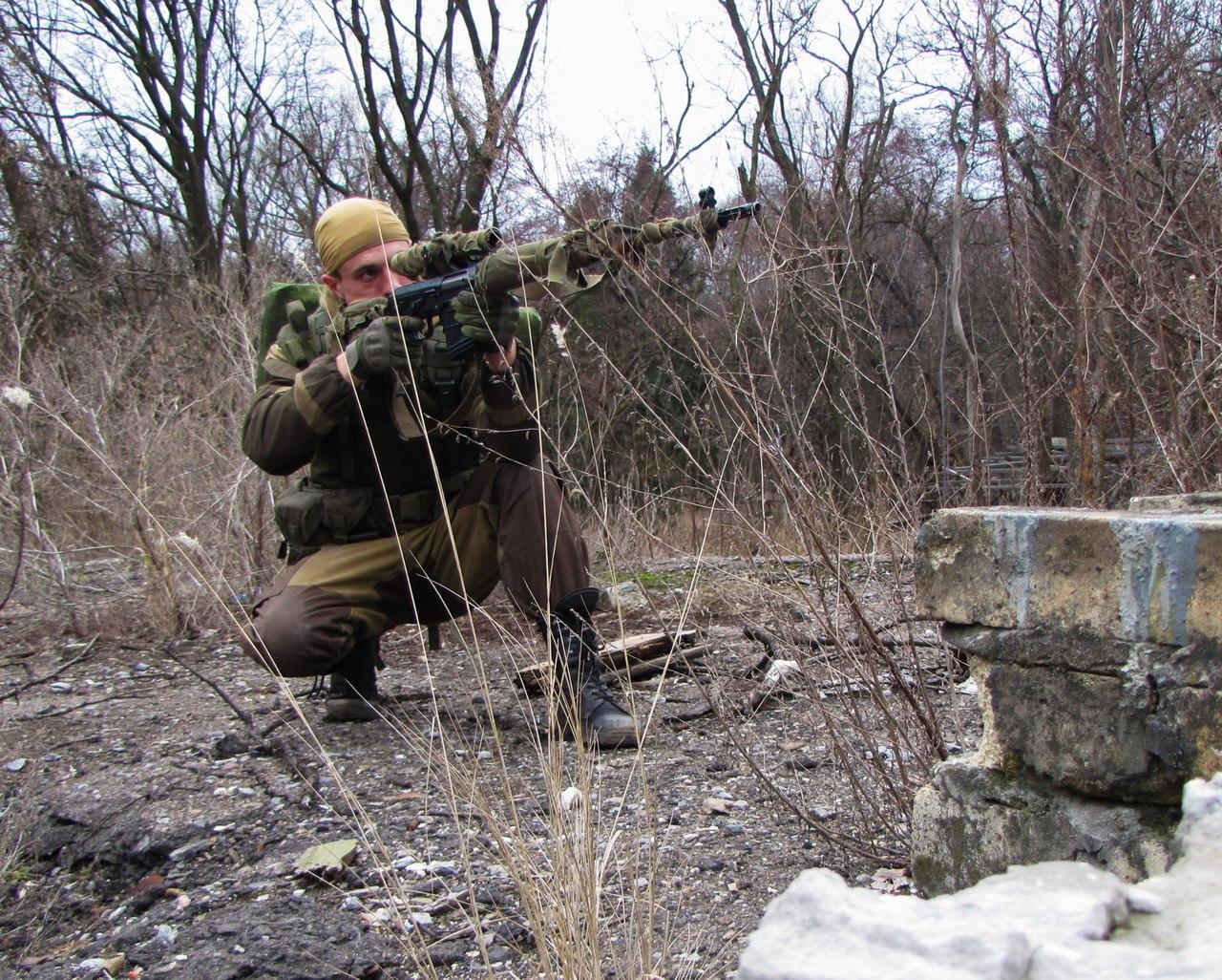 русская весна донбасса снайперы ополчения фото чём