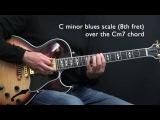 C Minor Jazz Blues - Easy Jazz Guitar Lesson by Achim Kohl