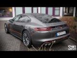 Picking Up a New Porsche Panamera 4S Diesel