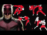How many fighting styles does Daredevil know in Marvel's Daredevil Netflix Series