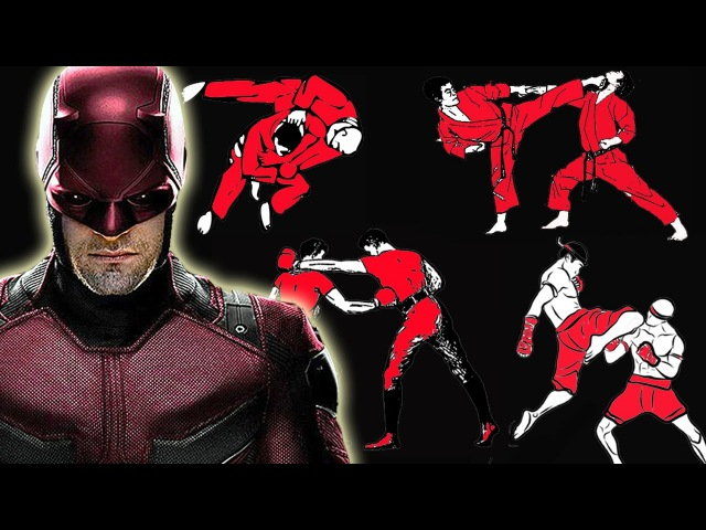 How many fighting styles does Daredevil know in Marvel's Daredevil Netflix Series?