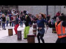 Melbourne Djembe Flash Mob City Square 2016 (long version)