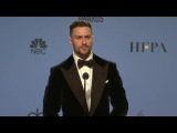 Aaron Taylor Johnson - Golden Globes 2017 - Full Backstage Interview
