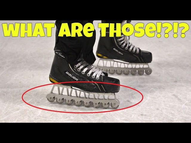 Synthetic Ice Skates - AGILITY BLADES Review