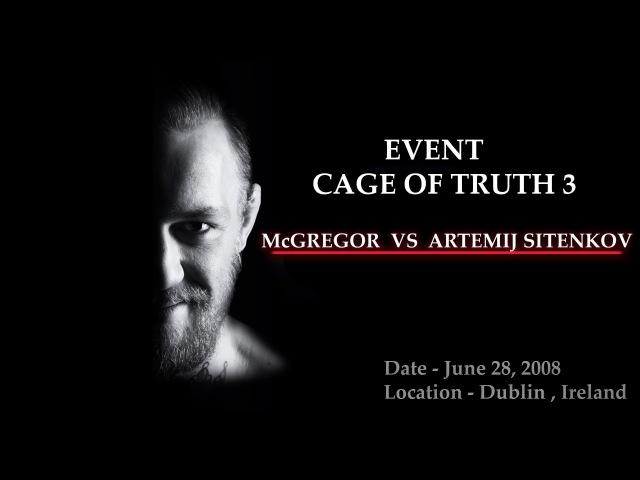 Conor McGregor vs Artemij Sitenkov (First Professional MMA Loss)