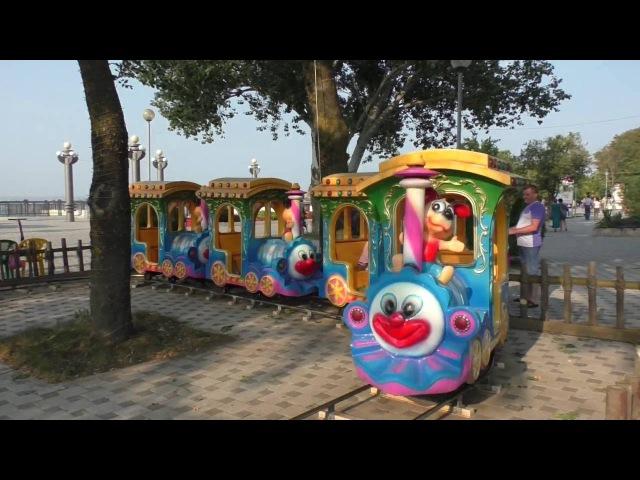 Влог: Анапа. Идем на море и в детский городок! Vlog:Anapa.We go to the sea and in children's town.