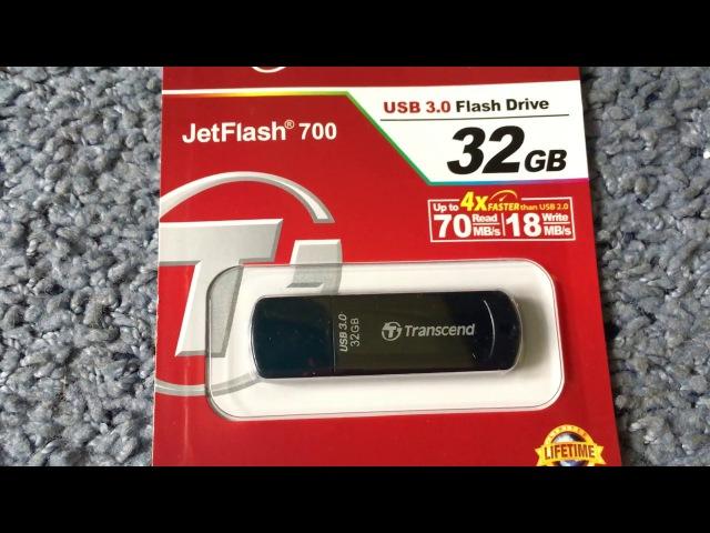 Transcend JetFlash 700 USB 3.0 Flash Drive