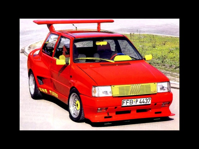 Langenberg Fiat Uno Turbo Extreme 146 1986