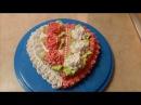 Вкусный красивый торт Медовик на кефире Рецепт Украшаем торт кремом Cake decoration СЕ