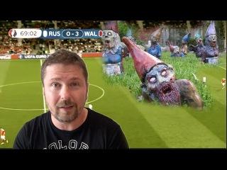 Футбол, украинскии комментатор и политика