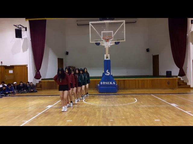 침산중 댄스부 단미 공연 (피땀눈물너무너무너무불장난핫해얌얌러시안473