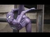 A hot flexible superman Girl