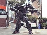 Korea's $8M Giant Walking Robot Warrior