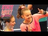 Whitney Bjerken  Level 9 State Gymnastics Meet  All Around Champion