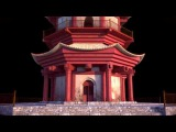 pagoda turntable