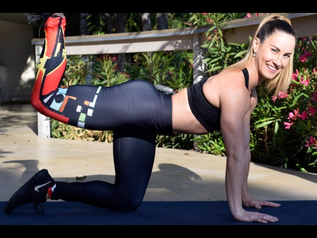 HIIT Workout No Equipment - Lower Body and Core
