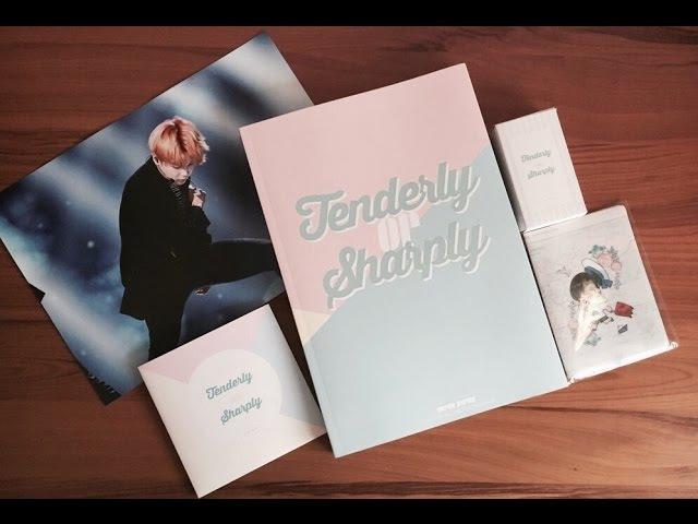 [UNBOXING] Tenderly or Sharply by Super Duper BTS Jimin Fansite