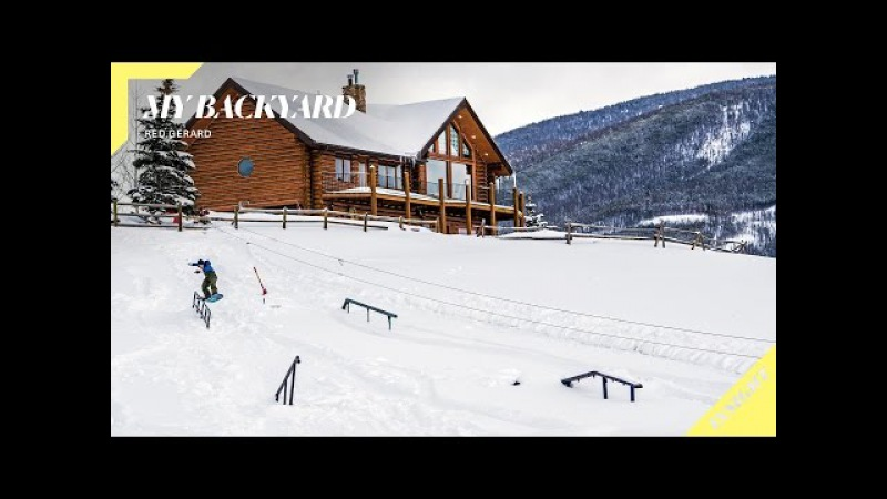 16-Year-Old Red Gerard's Ultimate Backyard Snowboarding Park | Insight