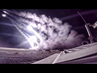 HIMARS Strike At Night In Iraq • 2016 Mosul Advance