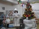 Новогодний праздник на подгот. отд 24.12.15 танец и сценка