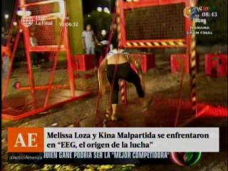 Melissa Loza y Kina Malpartida se enfrentaron en EEG El Origen de la Lucha
