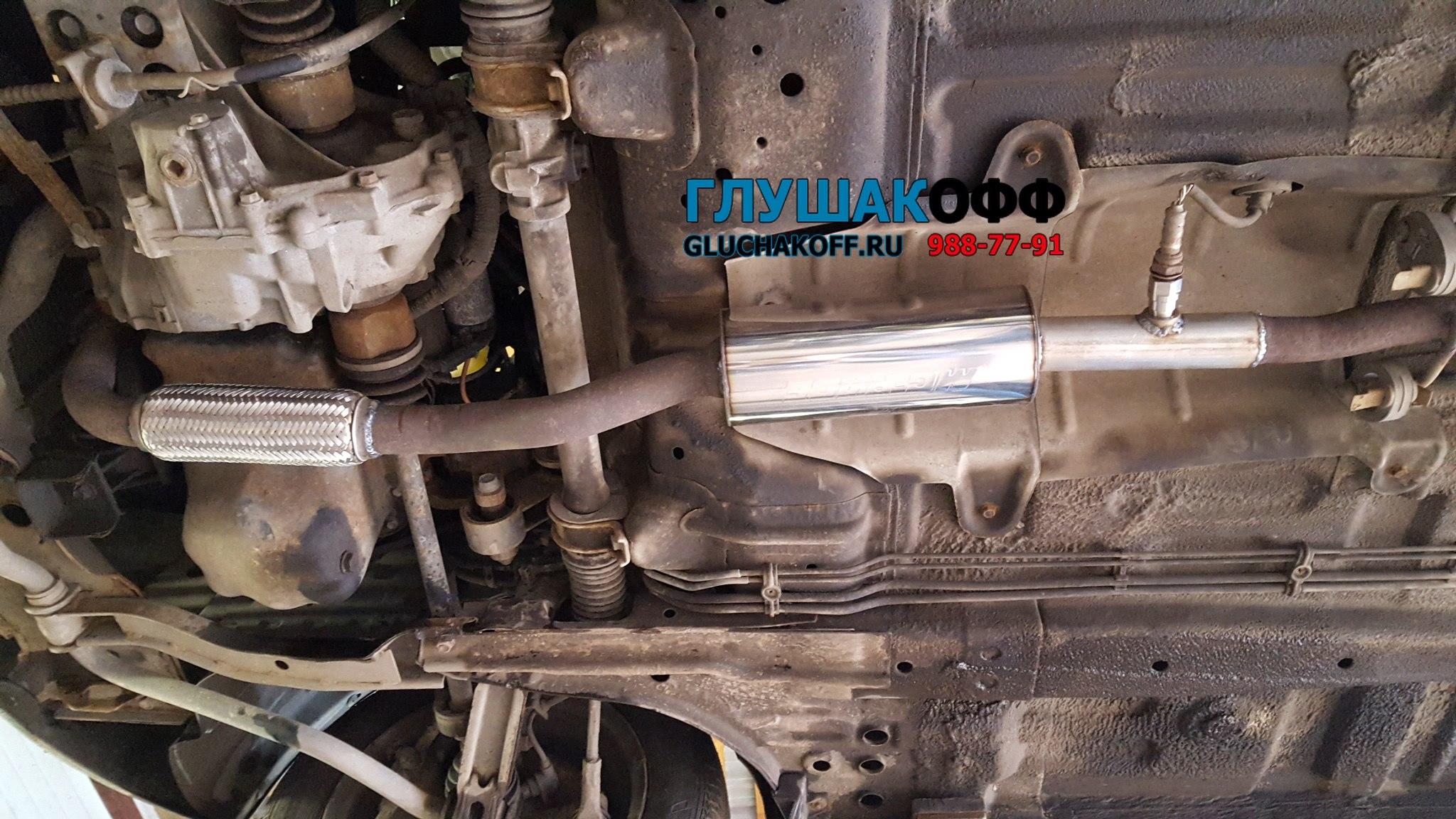 Daewoo Matiz - Замена катализатора на пламегаситель MG-Race