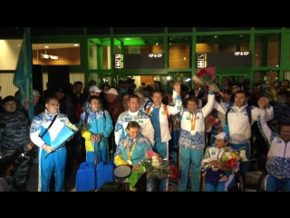 Казахстанские спортсмены вернулись с Паралимпийских игр в Рио (продолжение)