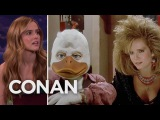 Zoey Deutch Watched Her Mom Have Sex With Howard The Duck  - CONAN on TBS