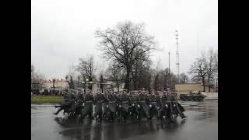 Марш после присяги ОДОН имени Дзержинского 21.11.2015
