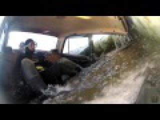 Опасный лед 16. Машина уходит под лёд с человеком. Кадры, не вошедшие в эфир Моск...