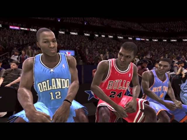 NBA LIVE 08 PS3 All Star Weekend Dunk Contest Gameplay Retro Remember This Game