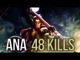 OG.Ana EPIC RAMPAGE 48 KILLS Monkey King Dota 2